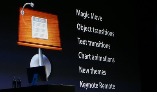 New features in Keynote 09