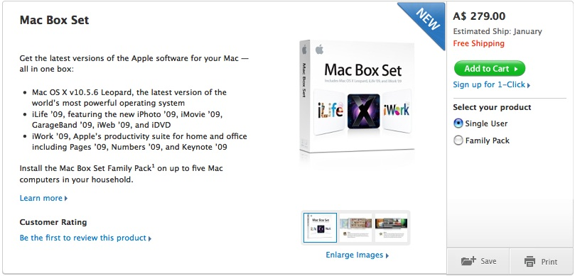 They should have called it the Macs Box Set, as in Max. Box. Set.