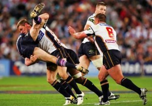 NRL (National Rugby League), one of the Grand Final plays.